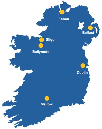 carehome locations Ireland